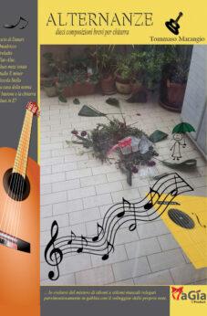 Alternanze 10 composizioni brevi per chitarra. Tommaso Marangio