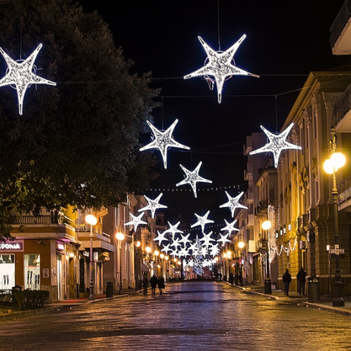 Natale per strada