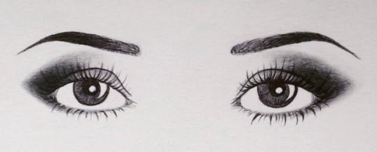 I suoi occhi dentro i miei